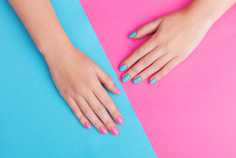 Image of £10 instead of £25 for a gel manicure at Jadore Beauty and More, Huddersfield, or £19 for a gel manicure and pedicure - save up to 60%