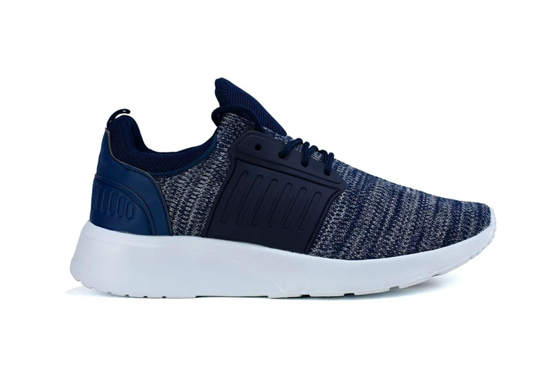 Image of £12.99 for a pair of men's textile trainers, choose from UK sizes 6-11!