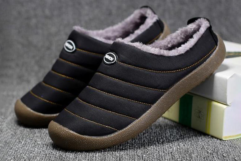 Image of £14.99 for a pair of anti-slip unisex slippers in UK sizes 4-10.5 from EC Life-Style!