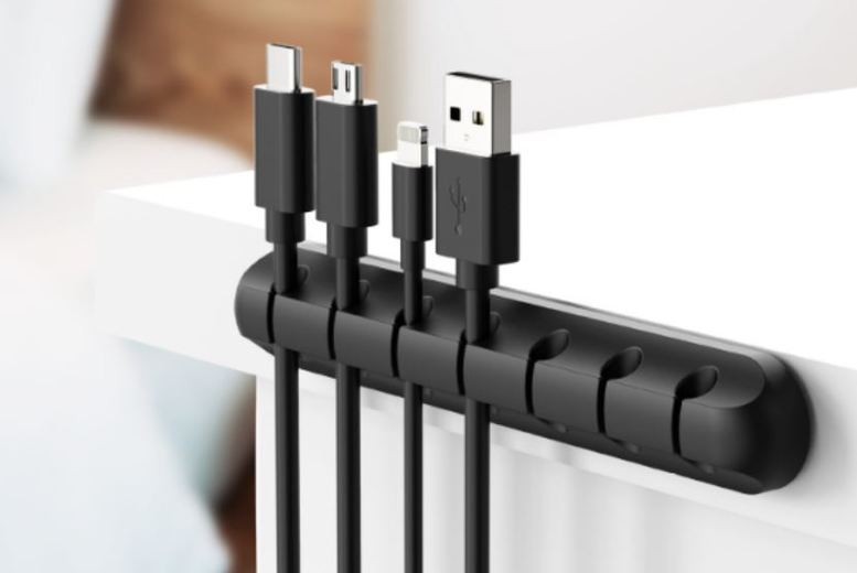 Image of From £2.99 for a USB Cable Organiser from Secretstorez - save up to 93%