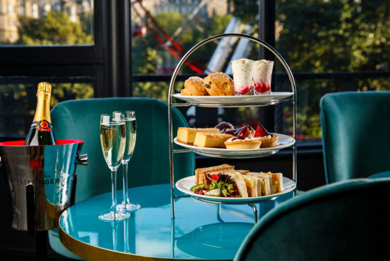 Image of £14 instead of £30 for an afternoon tea for two people at Mercure, Edinburgh, or £18 to include a glass of Prosecco each - save up to 53%