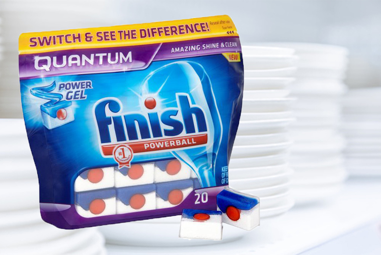 The Best Deal Guide - £3.99 for 20 Finish powerball quantum tablets from Ckent Ltd
