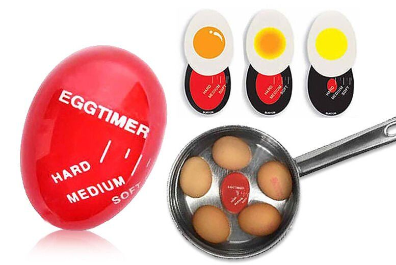 Image of £3.99 instead of £9.99 for a colour changing egg timer from London Exchain Store - save up to 60%