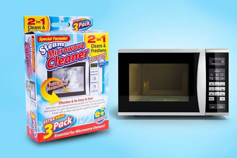 Image of £3.99 instead of £19.99 for a steam miracle microwave cleaner - 3 pack from London Exchain Store - save up to 80%