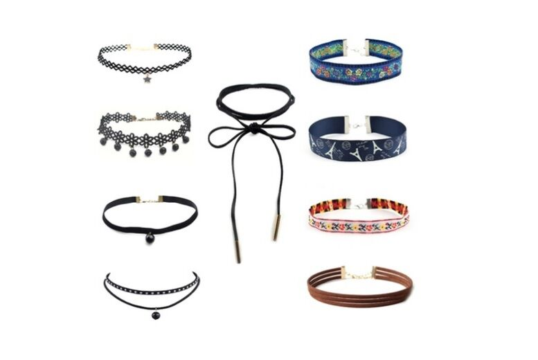 Image of £3.99 instead of £29.99 for a 9pc choker set - new styles from London Exchain Store - save 87%