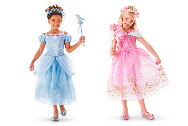 Image of £12.99 instead of £26 for a princess dress in a choice of five colours and sizes 3-8 years from Who Got The Plan - save 50%