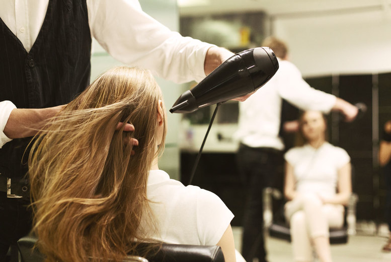 Image of £24 instead of £79.99 for a hair wash, cut and blow-dry with half-head of highlights at B's Skin & Beauty Laser Clinic, Wolverhampton - save 70%