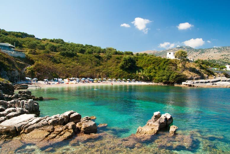Image of An all-inclusive 4* Corfu, Greece hotel stay with return flights from five airports. From £159pp for three nights, from £209pp for four nights, from £269pp for five nights, or from £319pp for seven nights - save up to 37%