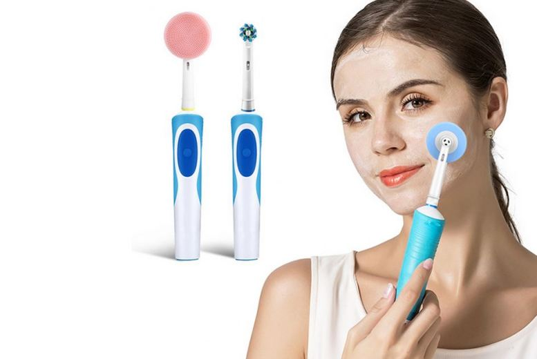 Image of From £5.99 for a facial cleansing brush from Hey4Beauty!