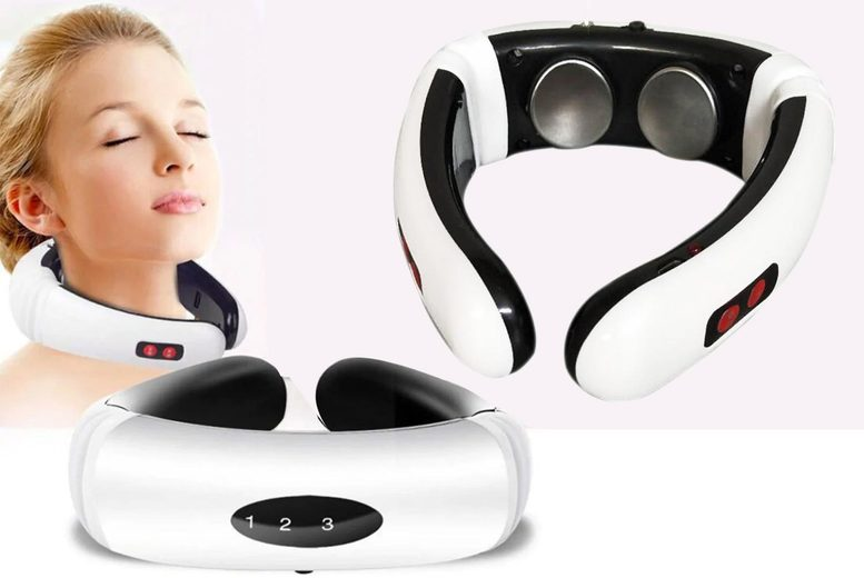 ?8.99 instead of ?69.99 for an electric neck massaging device from Backtogoo - save 87%