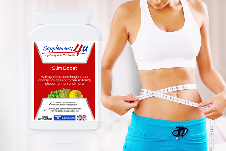 ?9.99 instead of ?32.99 for a two-month supply* of slimming aid supplements from Supplements4u - save 70%