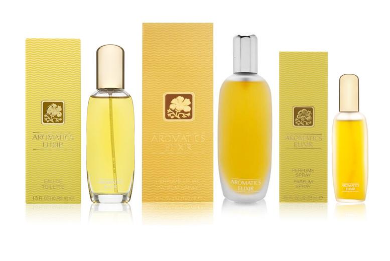 Image of £18 for a 25ml bottle of Clinique Aromatics Elixir eau de parfum spray, £27 for a 45ml bottle, £39 for a 100ml bottle