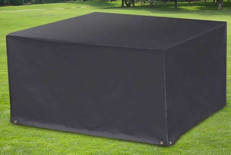 Image of £12.99 instead of £39.99 for a large waterproof garden furniture cover or £15.99 an extra large cover from CN Hut- save up to 68%