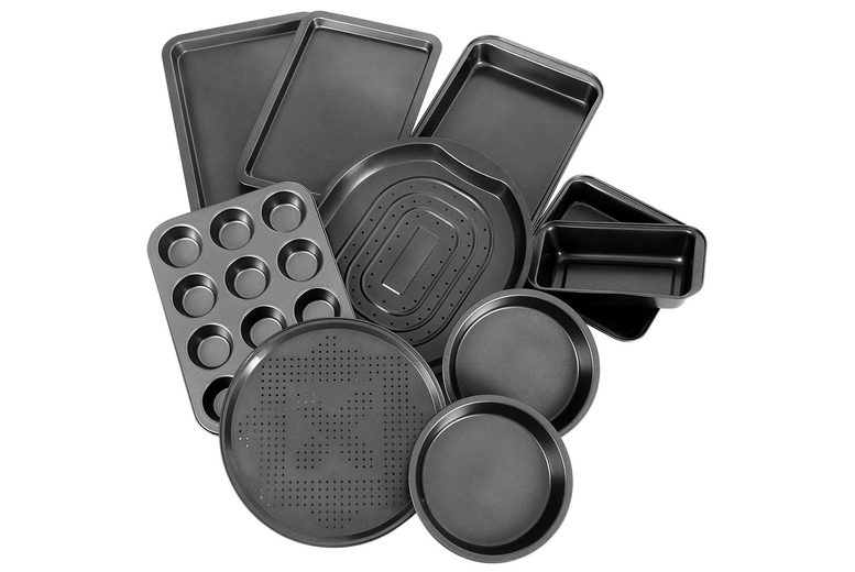 Image of £59 for a 10-piece non-stick baking tray set from FDS!