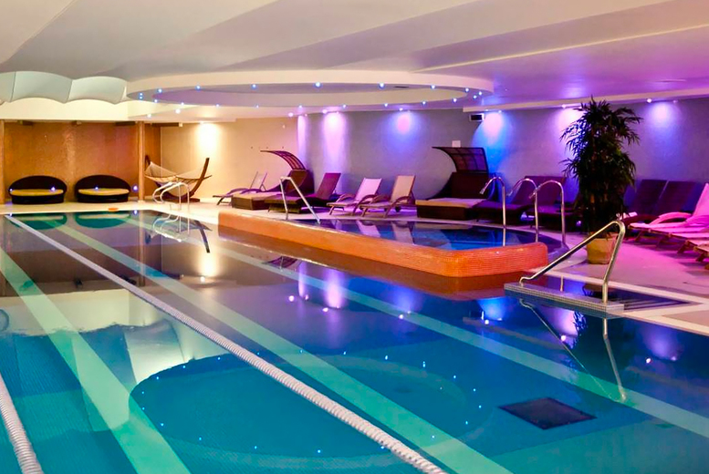 Image of £85 instead of £174 for an ELEMIS package for two people at Bannatyne Spa including three treatments, a BSC skincare product each, £5 retail voucher and 20% food and drinks discount - choose from 37 locations and save up to 54%