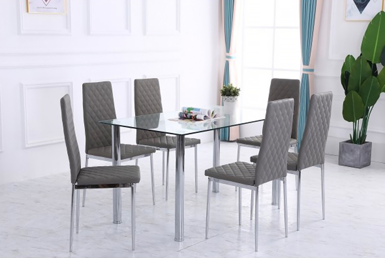 Image of £199 for a dining table and chairs set from Dreams Outdoors