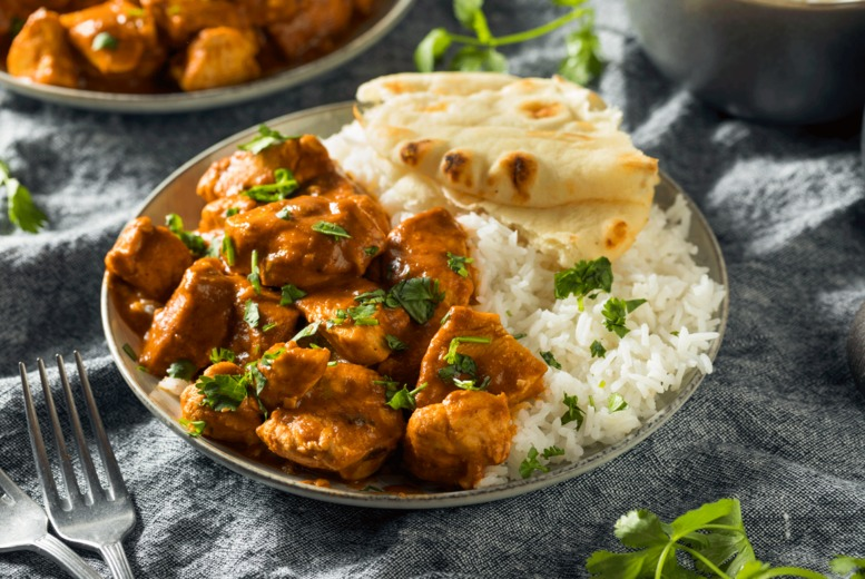 Image of £29 instead of £39.90 for three-course Indian dining for two people with a drink each at Mint Leaves Real Indian Food, New Eltham - save 27%