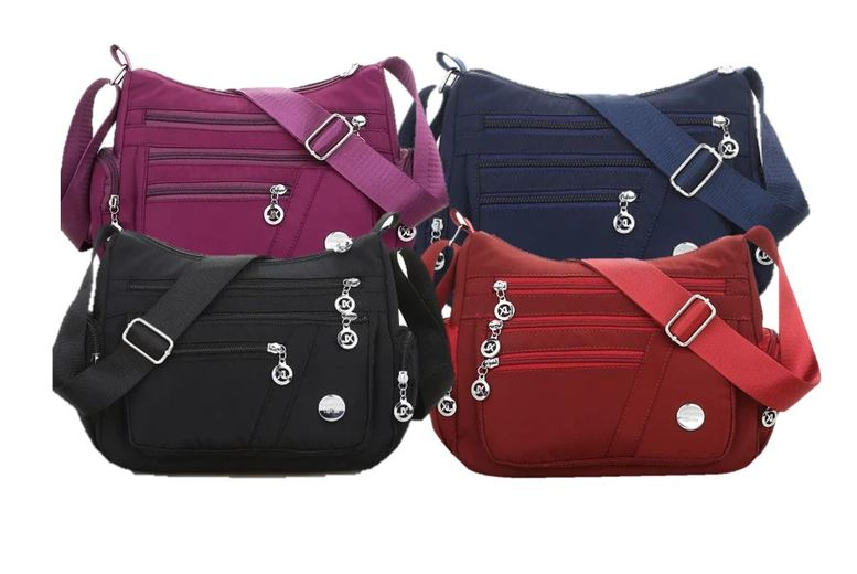 Image of £10.99 instead of £39.99 for a women nylon casual shoulder bag crossbody bag from ISKA Global Trading Limited t/a Wishwhooshoffers - save up to 73%