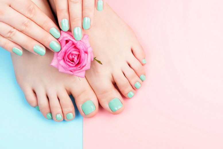Image of £12 instead of £18 for a gel nail treatment at Believe in Beauty, Cannock, or £18 to include a your toes - save up to 33%