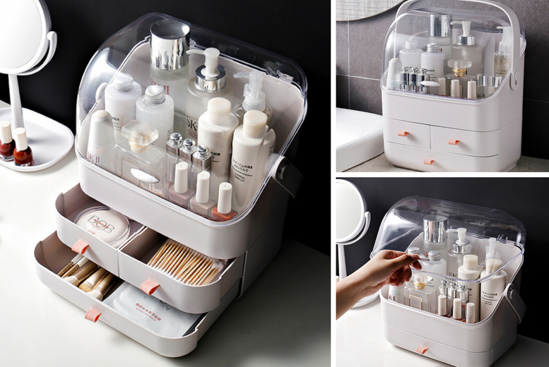 Image of From £17.99 for a makeup organiser from Hey4Beauty