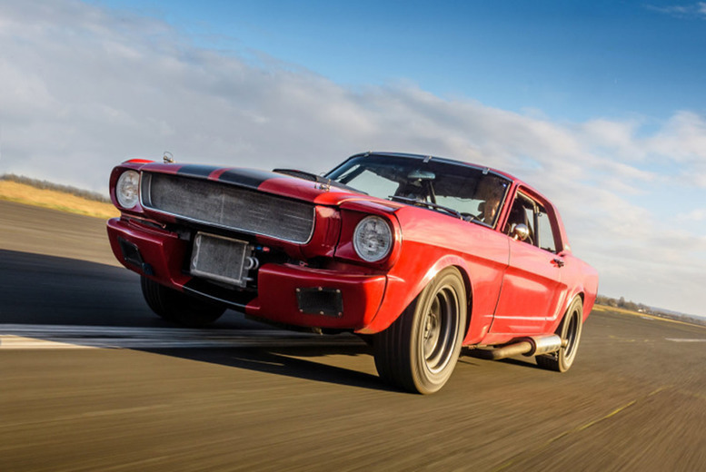 Image of £19 instead of £99 for three laps in a Mustang GT350 or a speed mustang with Car Chase Heroes - choose from 17 UK locations and save 81%