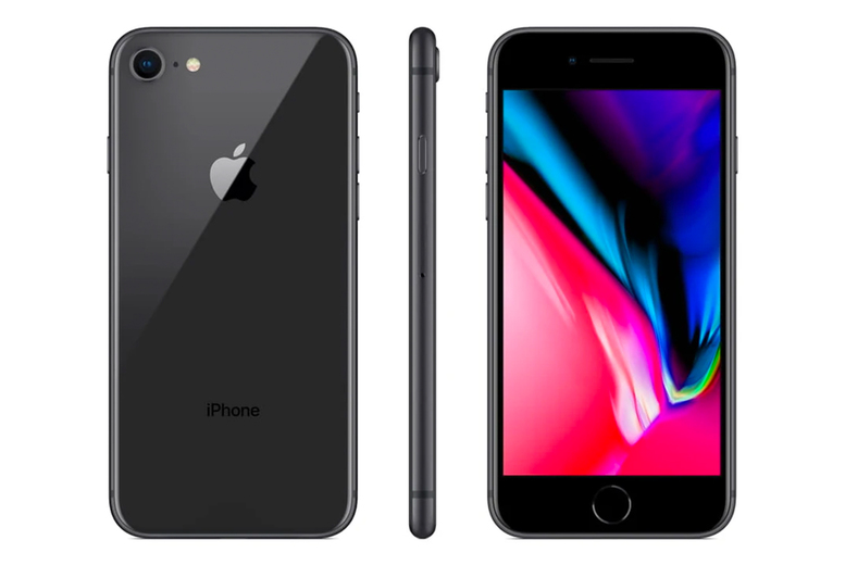 Image of £279 instead of £500 for a refurbished and unlocked 64GB iPhone 8 from i-Redo – save 44%
