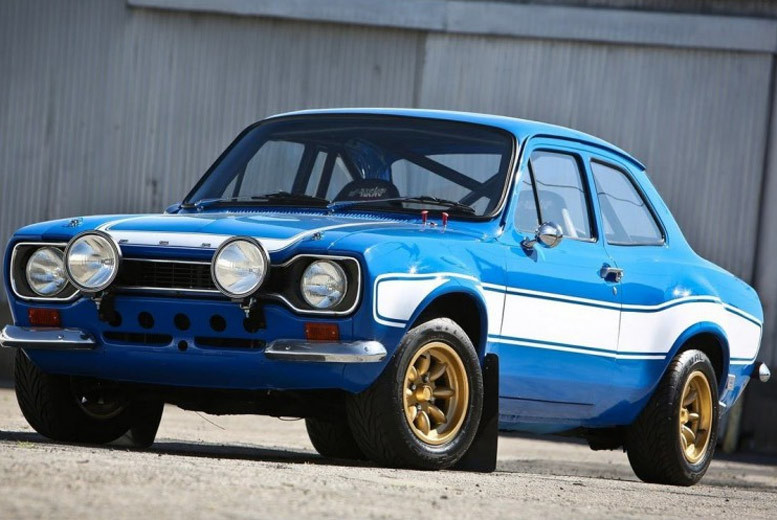 Image of £19 instead of £99 for an MK1 Escort driving experience at Car Chase Heroes for up to three miles - choose from 16 UK locations and save 81%