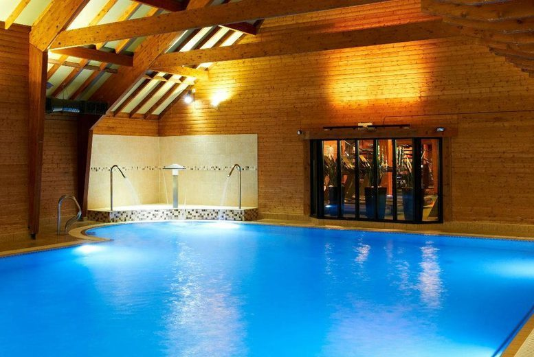 Image of £95 instead of £200.98 for a premium ELEMIS package for two people including three treatments, a BSC skincare product each, £5 retail voucher and 20% food and drinks discount at Bannatyne Spa, Bury St Edmunds - save 53%