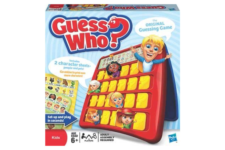Image of £15.99 for a Guess Who board game from Spire Tech