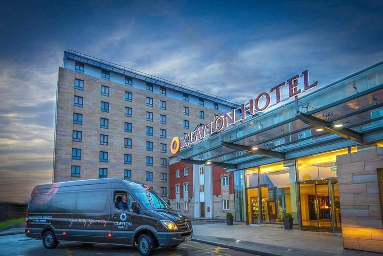 Image of A Manchester stay for two people with breakfast, Prosecco, airport parking and two-course dining upgrade. From £109 for one night - save up to 29%