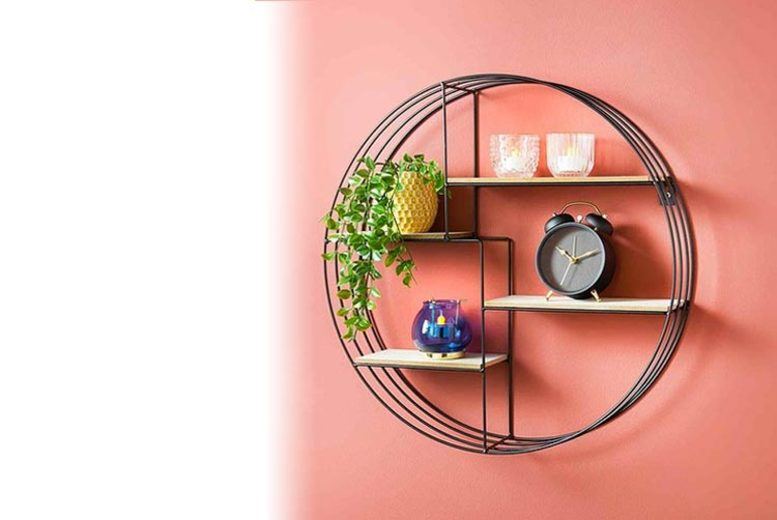 Image of £32.99 for a floating multi level wall shelf from Deenz