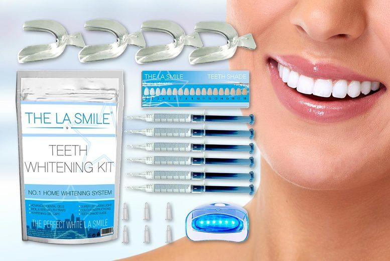 Image of £9.99 instead of £49.99 for a six-gel teeth whitening kit from Igojii - save 80%