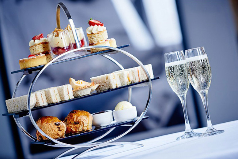 Image of £24.50 instead of £35.90 for a traditional afternoon tea for two people, or £29.50 to include a glass of Prosecco each at MPW Steakhouse Bar & Grill, Bristol - save up to 32%