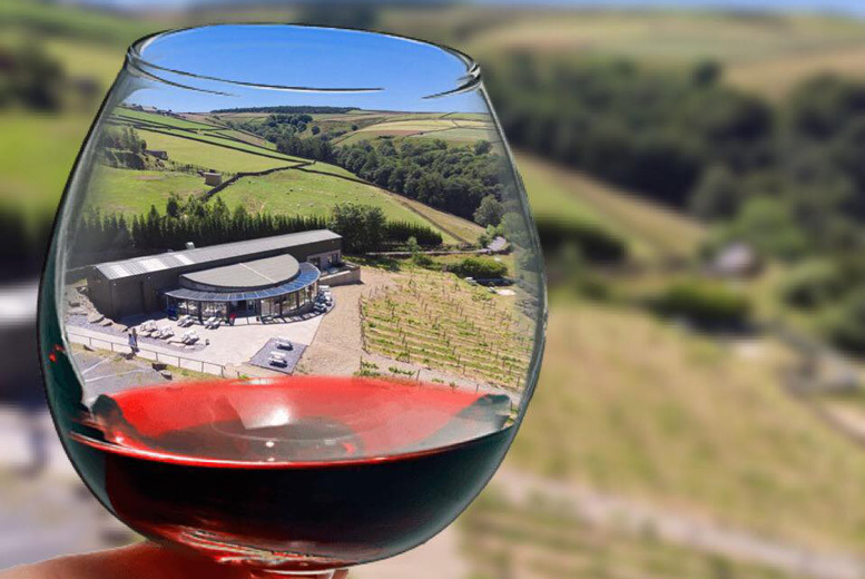 Image of £28 instead of £65 for a vineyard tour, wine tasting and brunch for two people at Holmfirth Vineyard - save 57%
