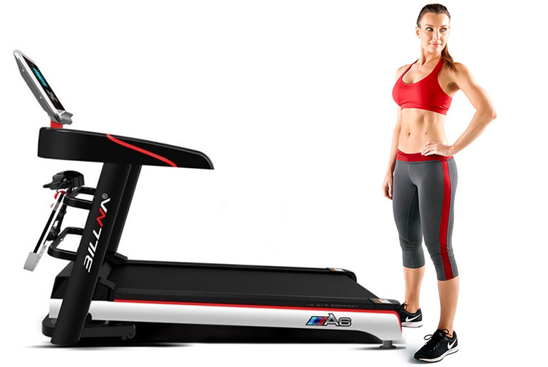 Image of £399 instead of £599 for a treadmill machine, £429 for a treadmill and massage machine from Bing Bang Bosh - save 34%