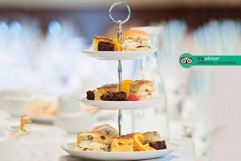 Image of £22 instead of £39.90 for afternoon tea for two people at the Best Western Valley Hotel, Ironbridge - save 45%