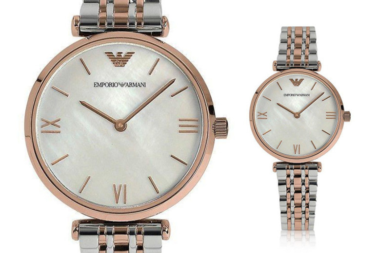 Image of £109 instead of £249.99 for a women's Emporio Armani AR1683 watch from Best Watch Company - save 56%