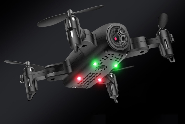 Image of £19.99 instead of £129.99 for a 500g spider drone or £29.99 for a spider drone with a 4K camera from CN Hut - save up to 85%