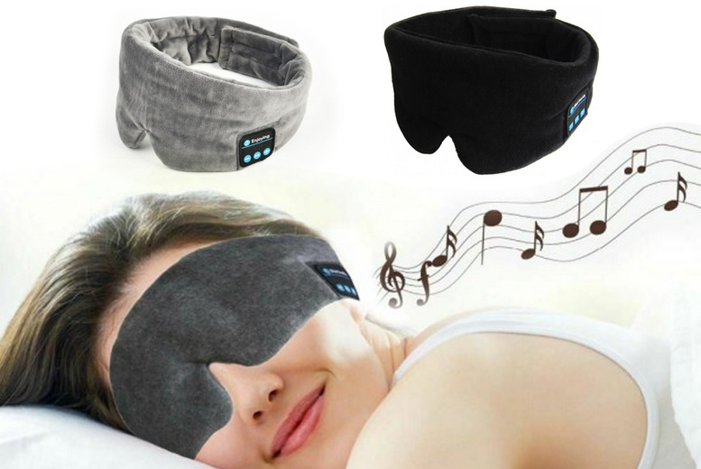 ?9.99 instead of ?39.99 for a 2-in-1 wireless headphones and sleep mask from Pinkpree - save 75%