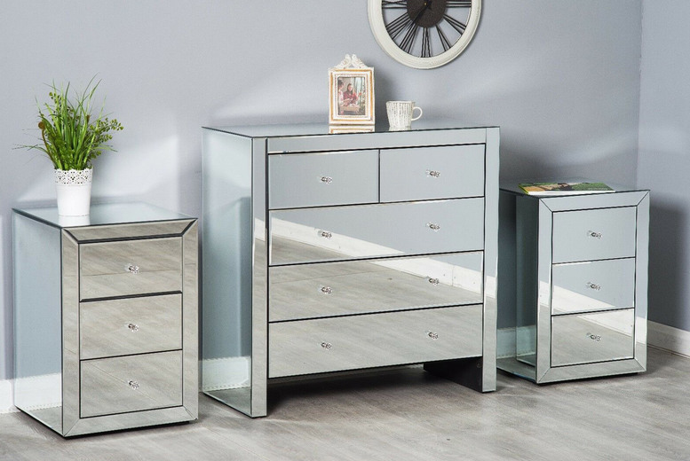 Image of From £129 for a three-drawer mirrored collection, choose from five options from Dreams Outdoors