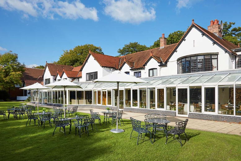Image of A 4* Cheshire stay at Macdonald Craxton Wood Hotel & Spa with breakfast and late checkout. From £79 for one night, from £109 to include a two-course dinner, or from £189 to also include a spa treatment each - save up to 40%