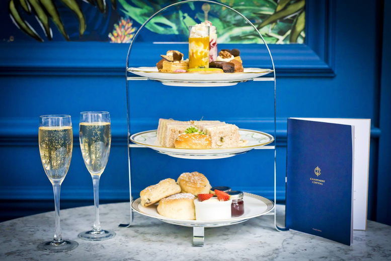 Image of £22 instead of £43.90 for a traditional afternoon tea for two people, or £28 to include a glass of Prosecco at Grand Central Hotel, Glasgow - save up to 50%