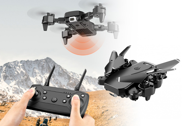 Image of £19.99 instead of £49.99 for a 500g HD wide angle S60 drone, £27.99 for a drone with a 1080P camera or £29.99 for a drone with a 4K camera from Yello Goods - save up to 60%