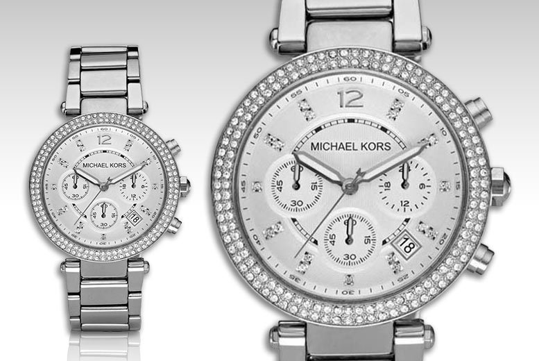 Image of £99 instead of £279 for a Michael Kors ladies' Parker MK5353 watch from CJ Watches - save 65%
