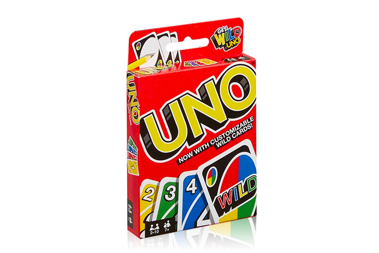 Image of £9.99 for an Uno card game from Avvrax – great fun for all the family!
