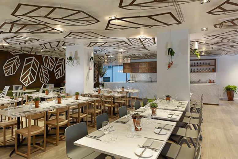 Image of £39 instead of £84.90 for three-course dining for two people with a bottle of Prosecco to share at Urban Meadow Cafe & Bar, Doubletree By Hilton Hyde Park, or £49 for 'bottomless' Prosecco - save up to 54%