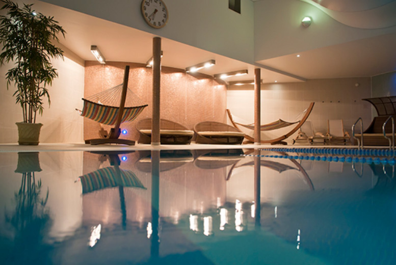 Image of £169 instead of £287.98 for a 'Gold & Caviar' luxury spa package for two people with four treatments, a BSC Skincare product each, £5 voucher each and 20% food and drink discount at Bannatyne Health Club & Spa – choose from five locations and save 41%