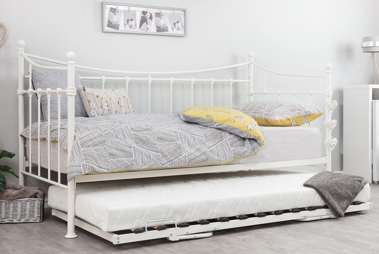 Image of £49 for a trundle, £109 for a Kinsley daybed or £129 for a daybed with trundle from Accessory Box