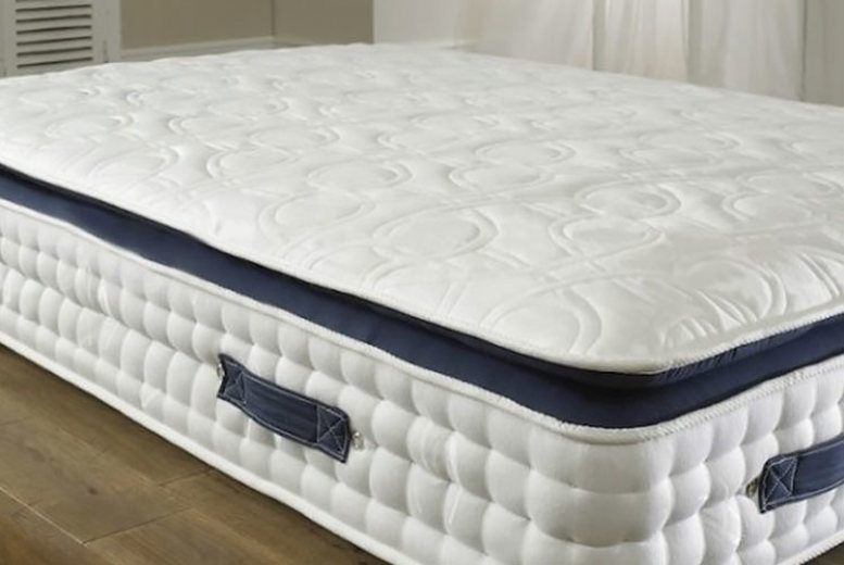 Image of From £109 instead of £479.01 for a sapphire 3000 pocket quilted top ortho mattress from Dining Tables - save up to 77%