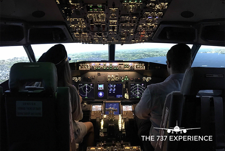 Image of £34 instead of £60 for a 30-minute Boeing 737 flight simulator experience at The 737 Experience, Newcastle. £64 for 60-minutes - save up to 43%